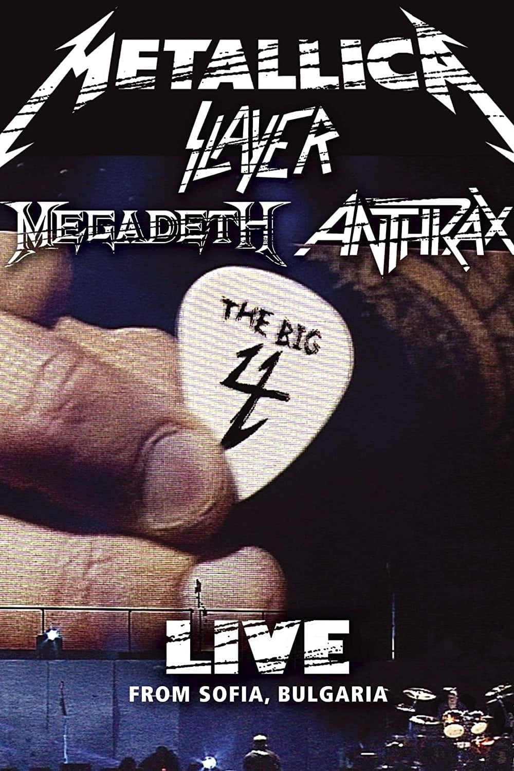 """Poster for the movie """"The Big Four: Live in Sofia"""""""