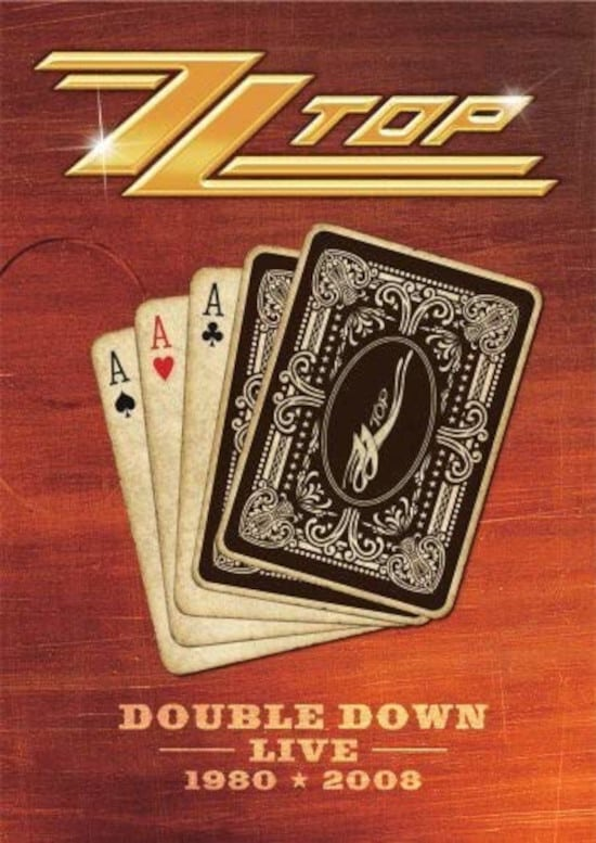 """Poster for the movie """"ZZ Top: Double Down Live"""""""