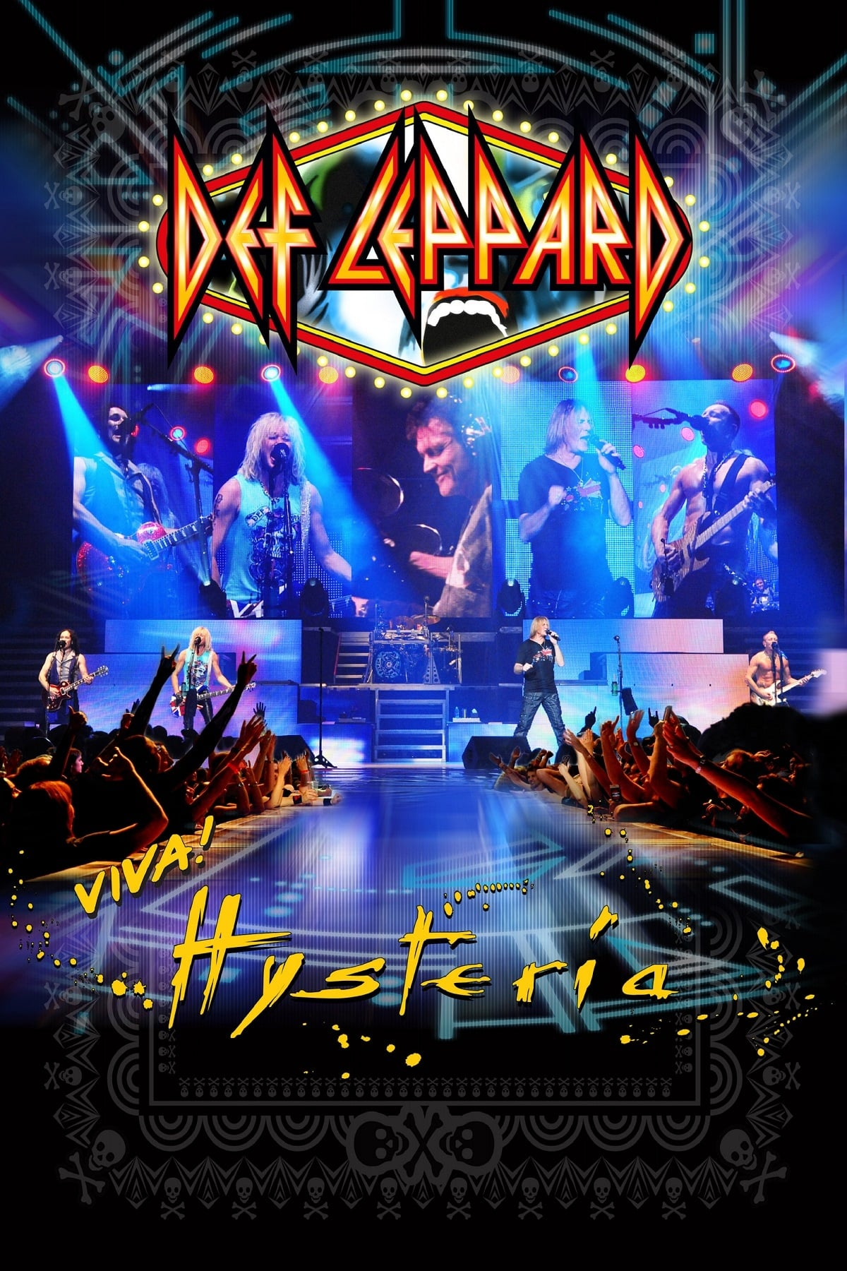 """Poster for the movie """"Def Leppard: Viva! Hysteria"""""""