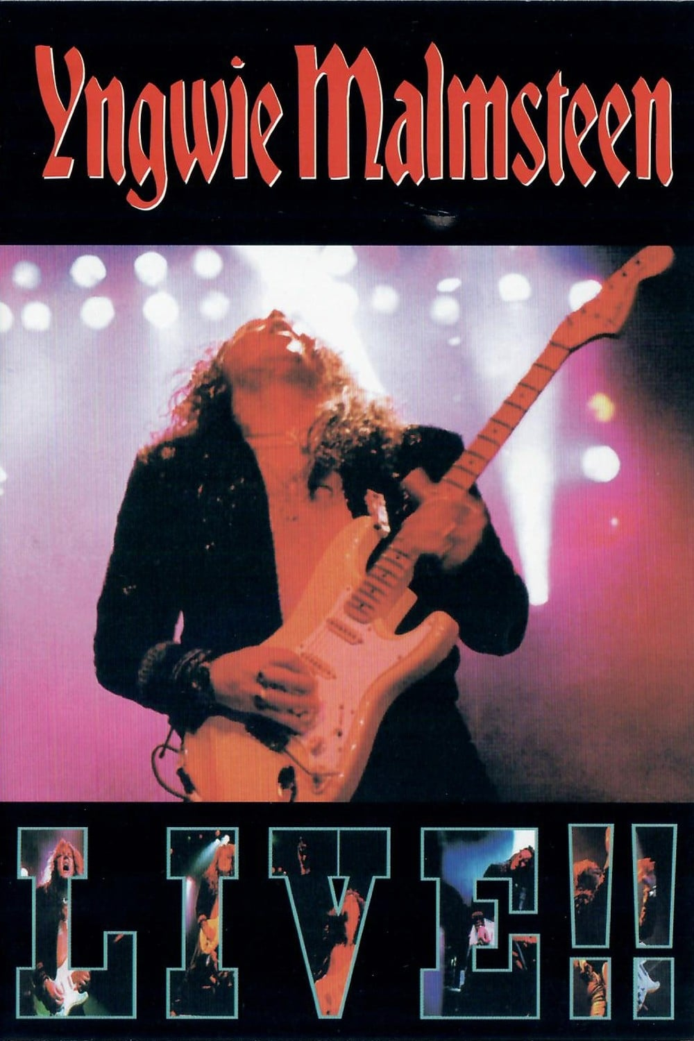 """Poster for the movie """"Yngwie Malmsteen: Live!!"""""""