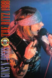 """Poster for the movie """"Guns N' Roses: Live at the Ritz"""""""